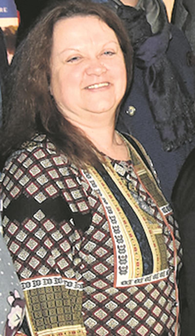Chantal Goulet, coordonnatrice de la CDC des Maskoutains.  Photo François Larivière   Le Courrier ©