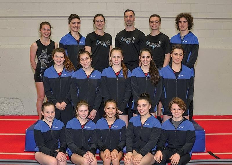 En plus des succès remportés au championnat québécois de sports de trampoline, Gymnaska-Voltigeurs a été représenté par un total de 16 athlètes au championnat de l'Est du Canada.