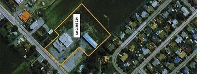 C'est dans la partie sud-est du lot indiqué sur cette photo aérienne de Saint-Damase que la tour Telus doit être érigée.