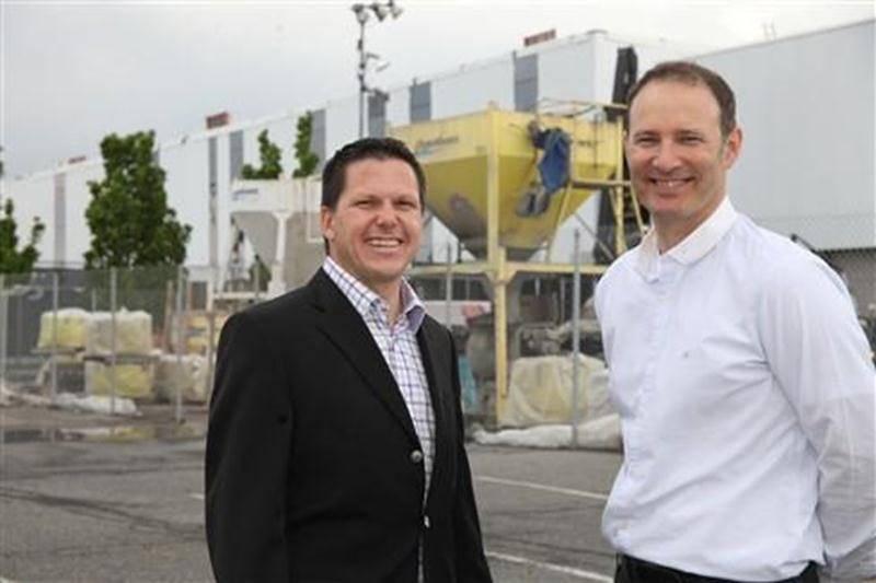 Richard Plante et Éric Leuenberger, de la Corporation aquatique maskoutaine.