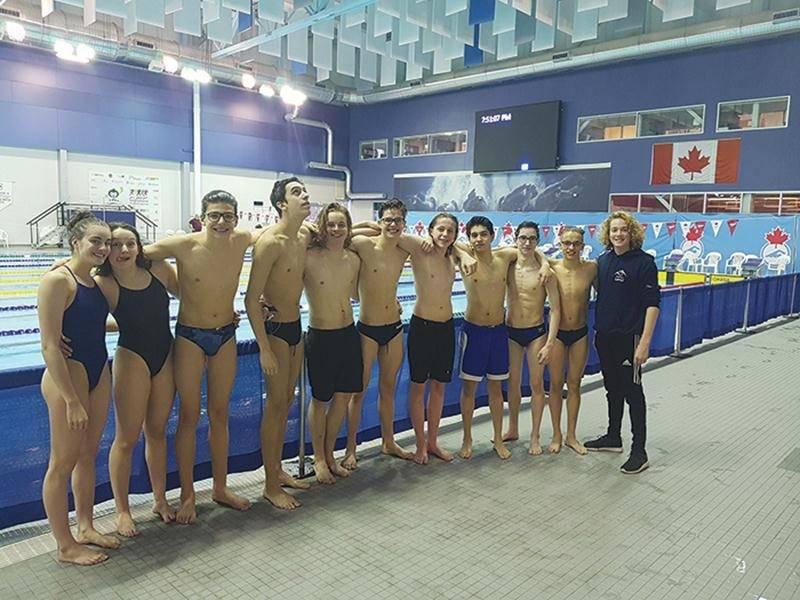 Une dizaine d'athlètes du CNSH ont participé au championnat canadien de l'Est.