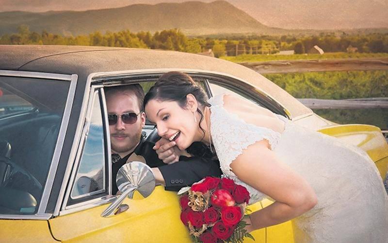 Cette photo intitulée J'irai où tu iras a permis à Patrick Roger de s'illustrer dans la catégorie « mariage - couple » au banquet de l'Association des photographes professionnels. Photo Patrick Roger