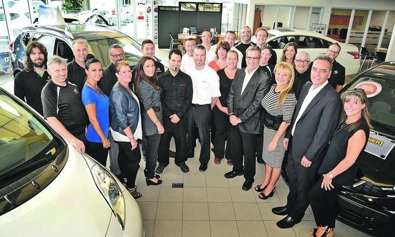 Les Galeries Nissan font maintenant partie du Groupe Beaucage de Sherbrooke qui possède 17 concessionnaires. Photo François Larivière | Le Courrier ©