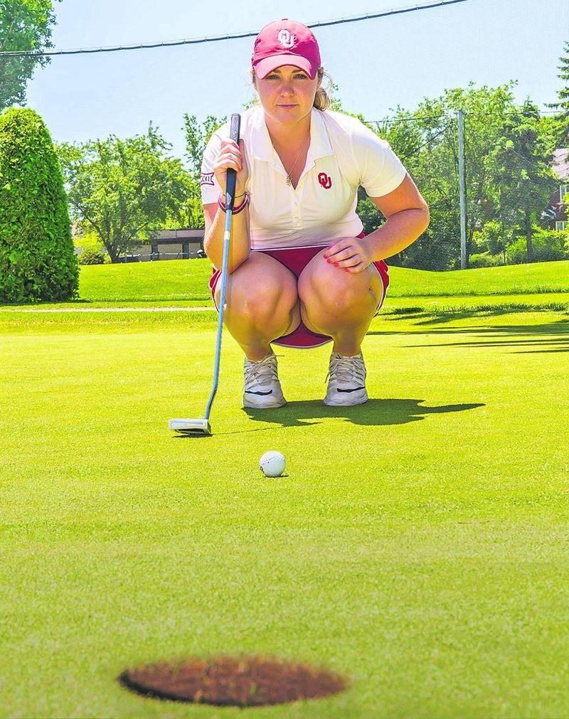 Valérie Tanguay a participé pour la première fois ce printemps aux qualifications du US Open, où elle a pu se mesurer à certaines golfeuses du circuit de la LPGA. Photo Robert Gosselin | Le Courrier ©