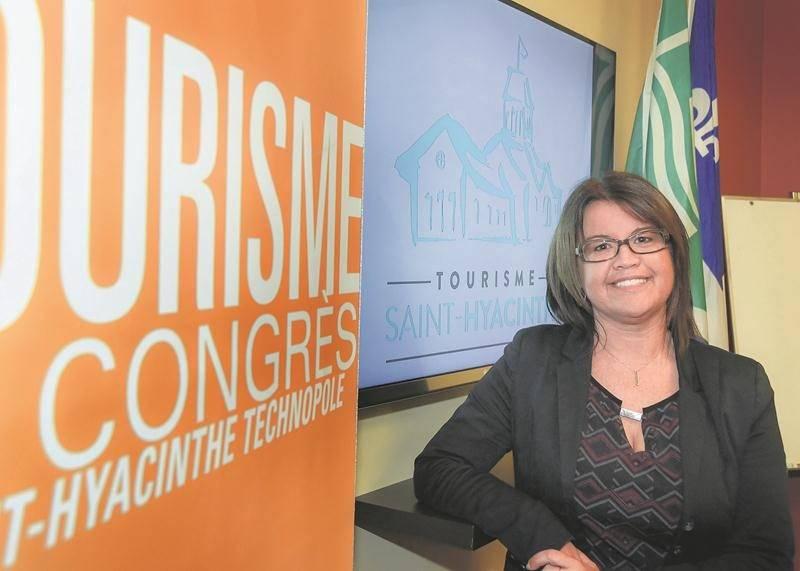 Nancy Lambert, directrice Tourisme et congrès à Saint-Hyacinthe Technopole.  Photo François Larivière | Le Courrier ©