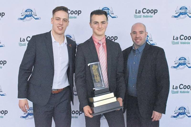 Hockey midget AAA : Charles-Antoine Lavallée remporte le trophée Ken-Dryden