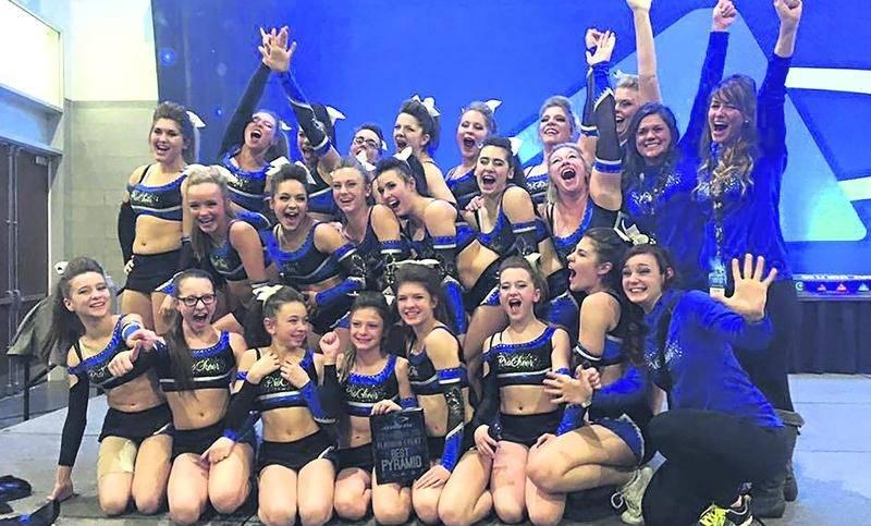 Perfect Dream a épaté les juges dans une compétition dans le Rhode Island, lui permettant d'assurer sa place pour le Summit All-Star Cheerleading Championship. Photo Courtoisie