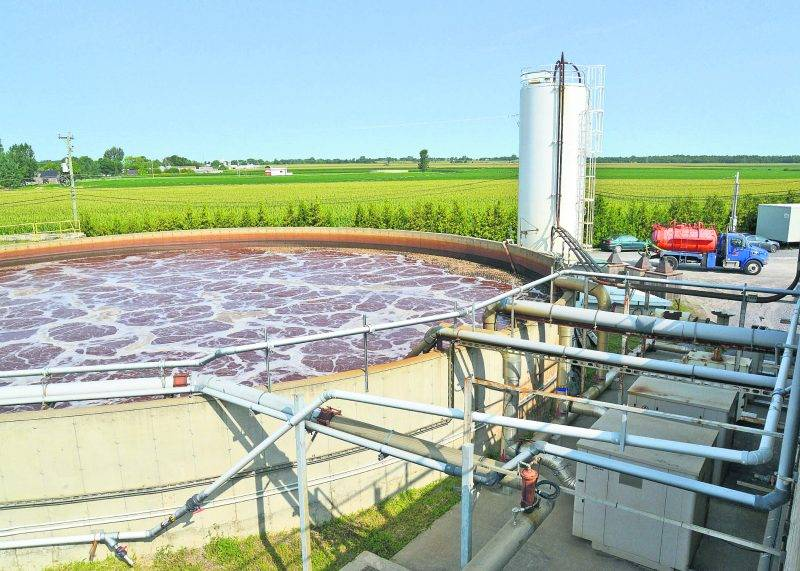 Les installations actuelles du CTBM traitent 50 000 tonnes de matières organiques annuellement. Photo François Larivière - Le Courrier