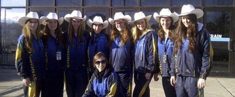 L'équipe performance des Vestales a réalisé l'une de ses meilleures prestations de la saison à Calgary.