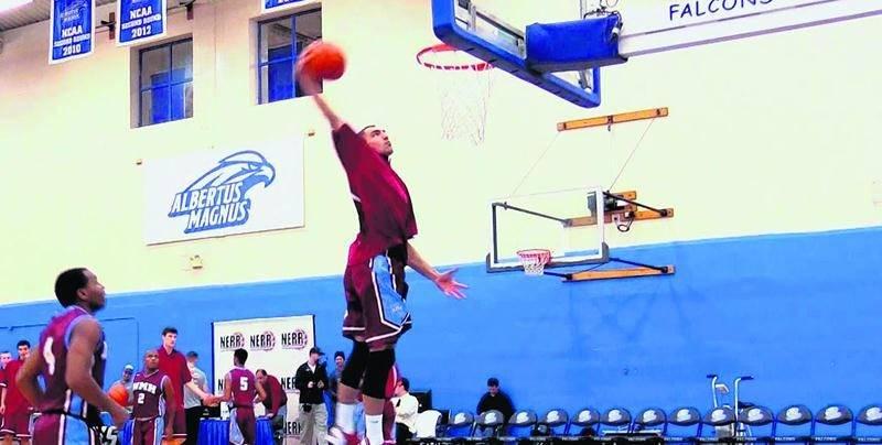 Jérôme Desrosiers a été invité pour une deuxième année au BioSteel All-Canadian Basketball Game. Photo Youtube