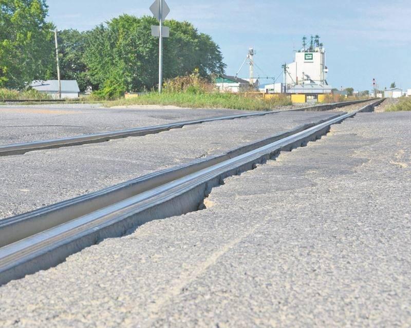 Le passage à niveau de la rue des Seigneurs Est, réparé il y a deux ans.