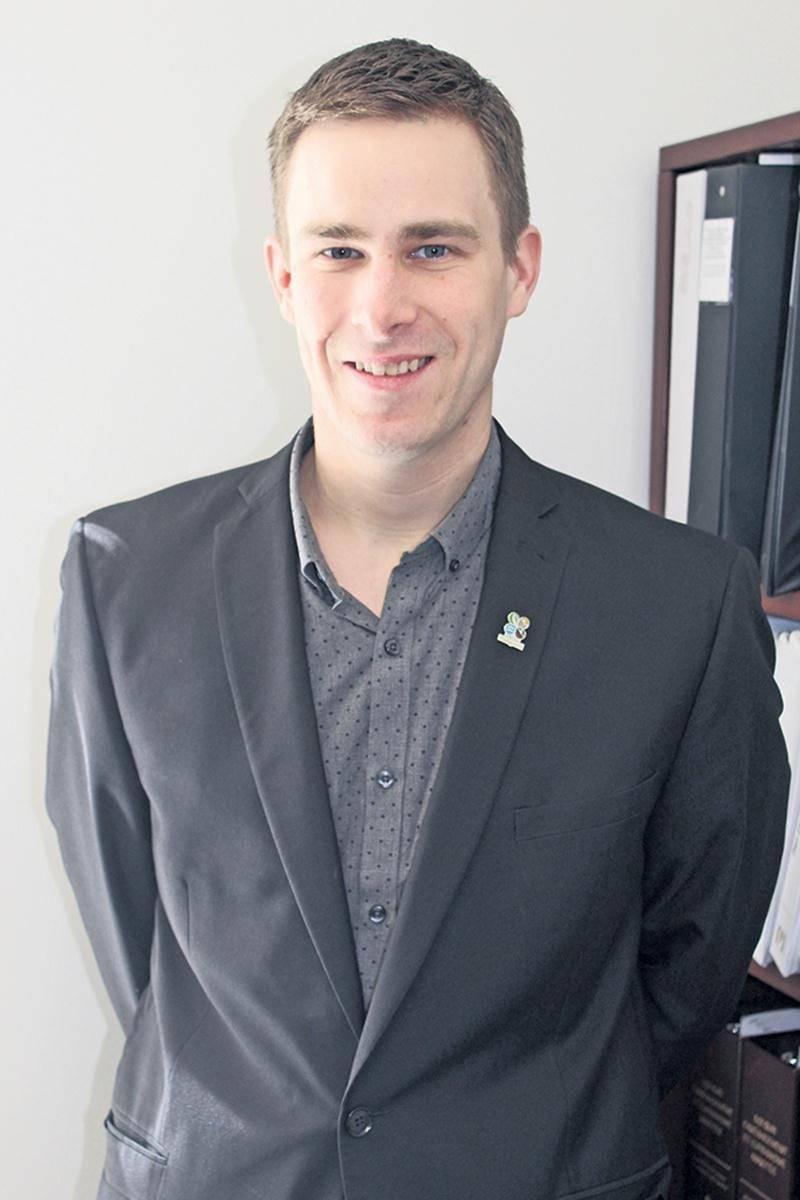 Louis-Philippe Laplante, nouveau conseiller au développement entrepreneurial et au mentorat pour Développement économique de la MRC.