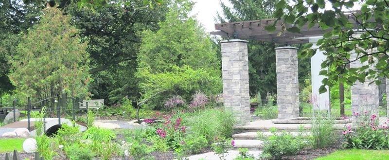 Le jardin «Au temps de l'amour» a remporté le premier prix de l'APPQ dans la catégorie «Jardins de la relève».