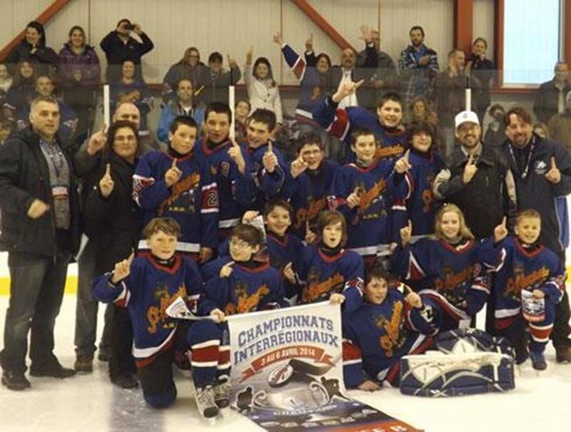 Les Maskas pee-wee B ont remporté la finale du championnat interrégional par la marque de 2 à 1 face aux représentants de la région de Laval.