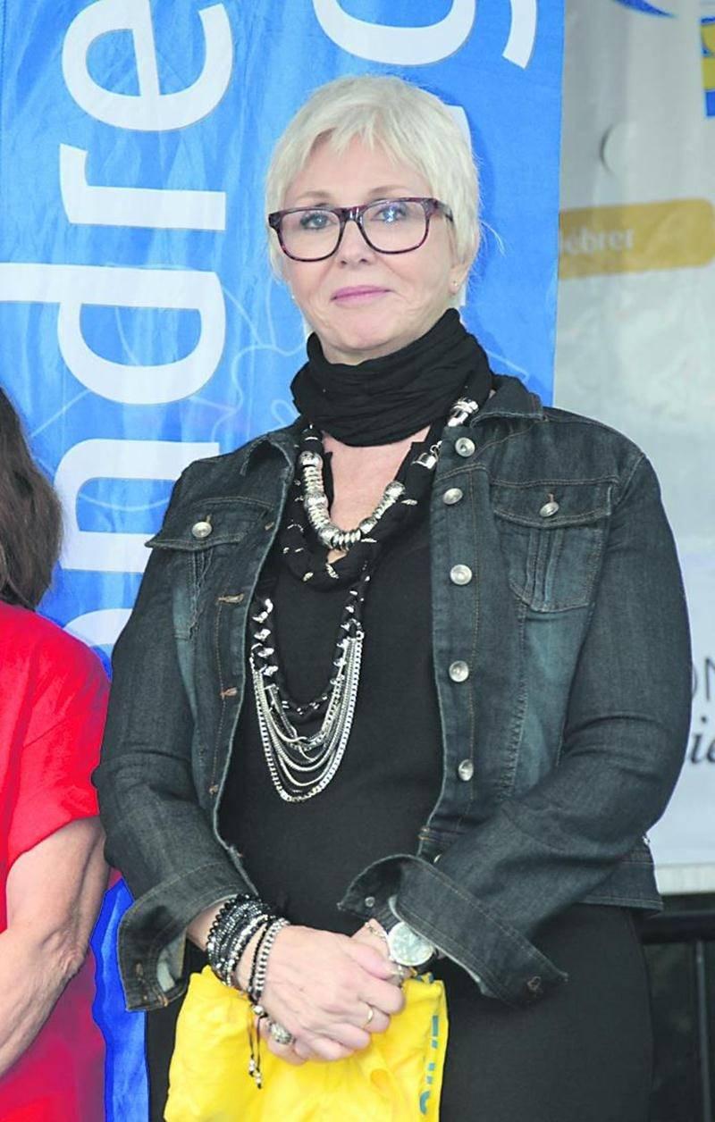 La chanteuse Renée Martel, porte-parole et invitée d'honneur.