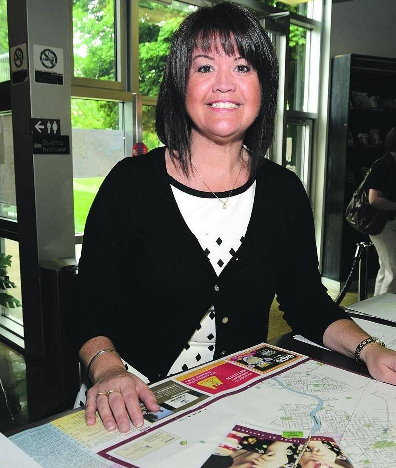 Nancy Lambert, directrice de tourisme et congrès de Saint-Hyacinthe Technopole. Photo François Larivière | Le Courrier ©