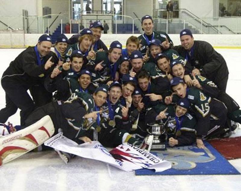 Les Gaulois du CAG sont champions de la Coupe Dodge 2012 en classe midget Espoir!