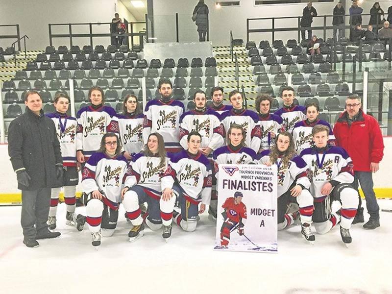 Les Riverains Midget A finalistes à Varennes