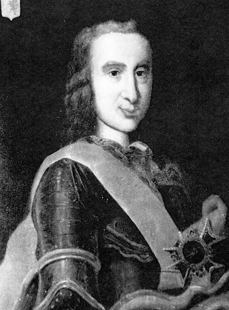 François-Pierre Rigaud de Vaudreuil, le premier seigneur de Saint-Hyacinthe. Photo Coll. Centre d'histoire de Saint-Hyacinthe