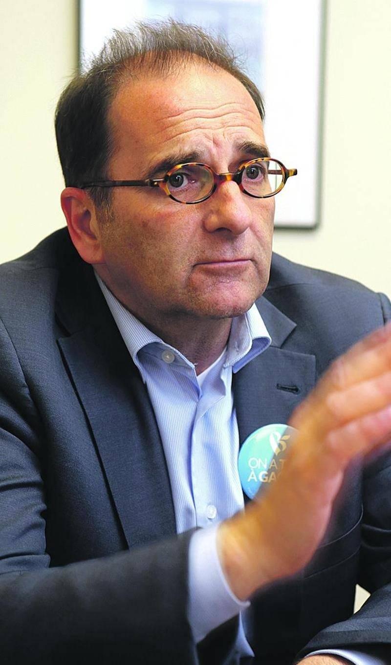Le candidat bloquiste, Michel Filion. Photo Robert Gosselin | Le Courrier ©
