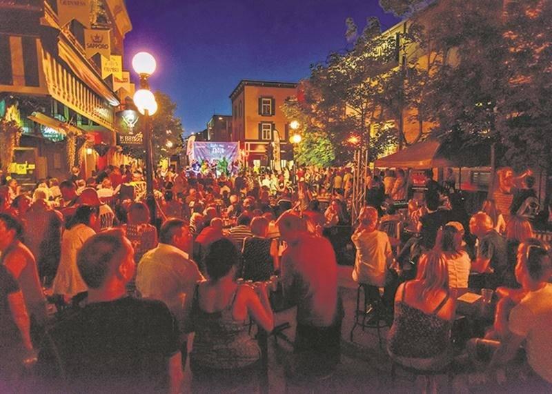 Qu'aura l'air le centre-ville de Saint-Hyacinthe en 2030? Un nouveau comité est sur le point d'être créé afin de discuter de cette question. Photothèque | Le Courrier ©
