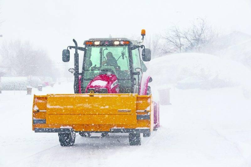 accumulation significative de neige a eu lieu un 12 décembre.   Photo Robert Gosselin   Le Courrier ©