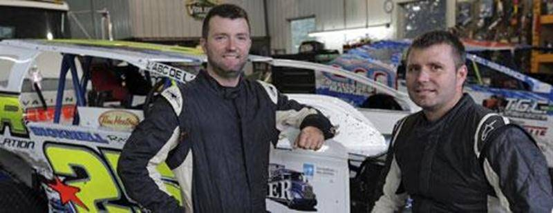 Les frères François et Steve Bernier figurent tous deux parmi le top 5 de la classe modifié à l'Autodrome de Granby à la mi-saison.