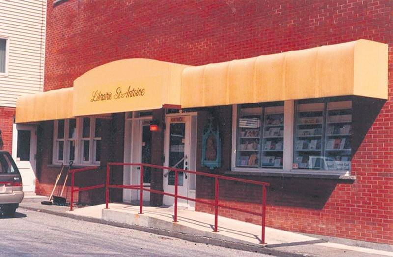 Librairie St-Antoine vers 1988. Photo Archives FMS Canada