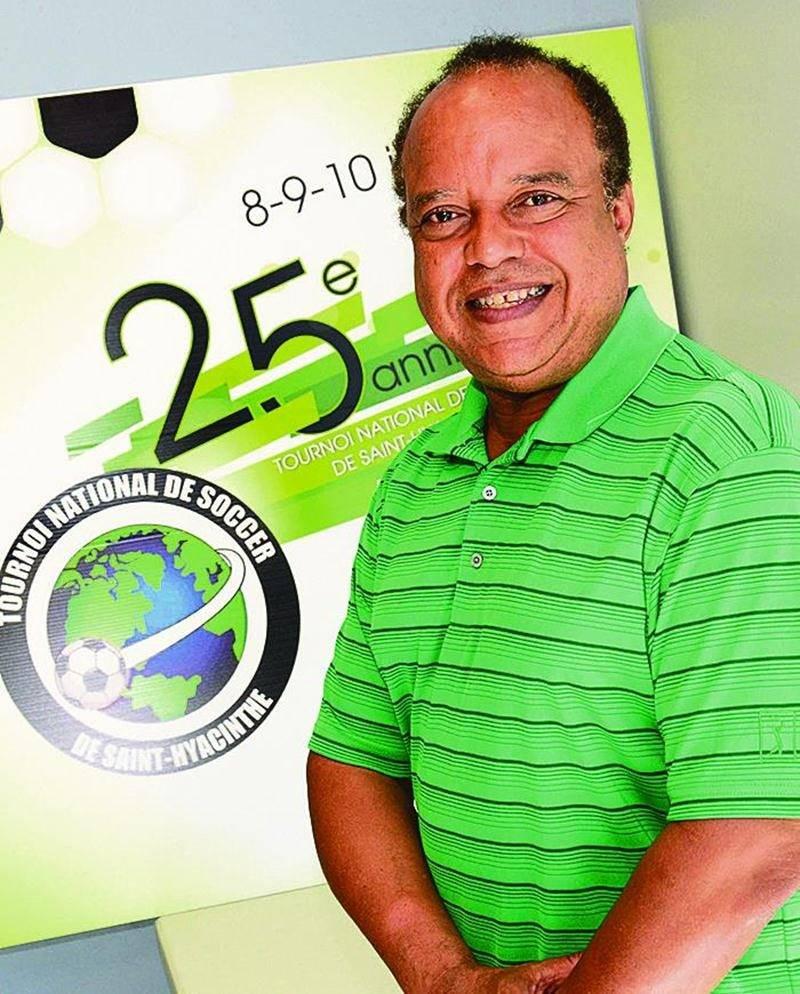 Le fondateur du Tournoi national de soccer de Saint-Hyacinthe, Ralph Gabriel, assurera la présidence d'honneur de la 25e édition. Photo François Larivière | Le Courrier ©