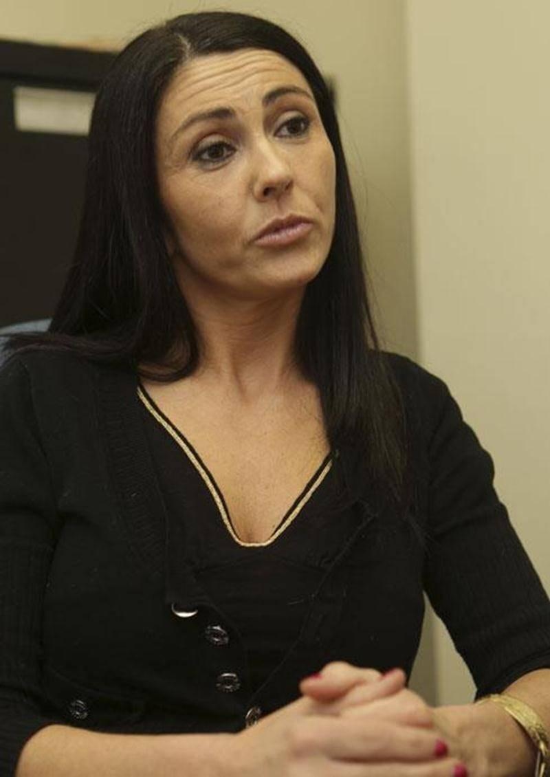 La dégringolade de la CAQ dans les intentions de vote n'inquiète pas la candidate de Saint-Hyacinthe, Chantal Soucy.