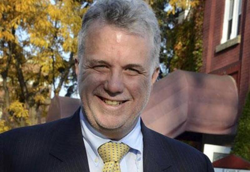 Philippe Couillard, candidat à la direction du Parti libéral du Québec.