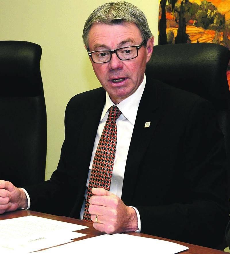Le maire de Saint-Hyacinthe, Claude Corbeil. Photothèque | Le Courrier ©
