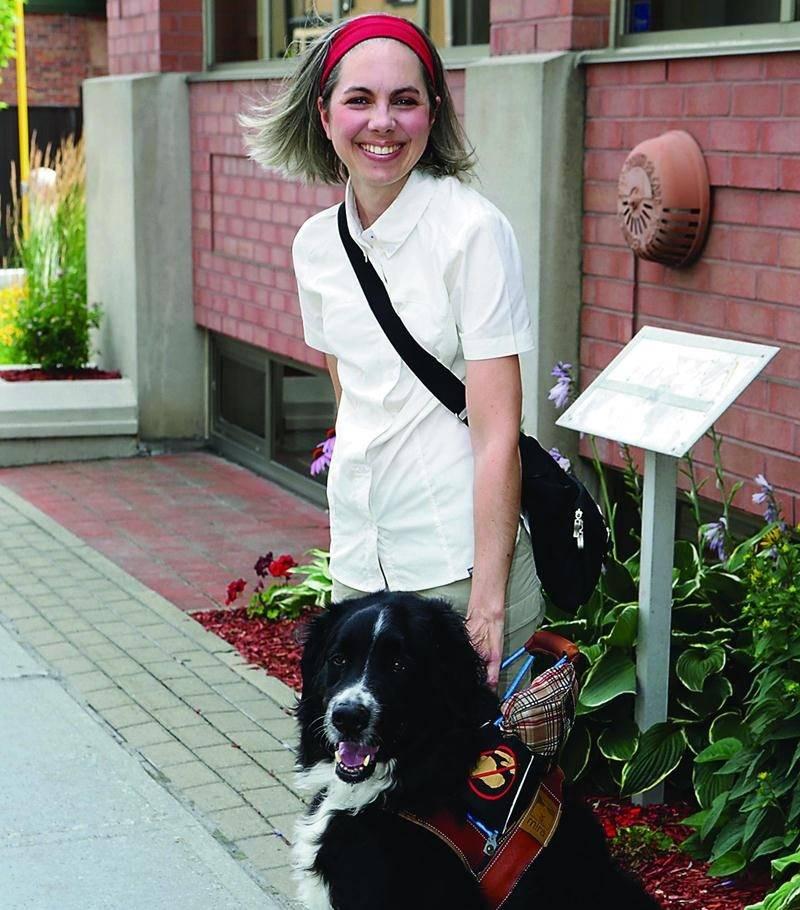 Atteinte d'une maladie dégénérative, Stéphanie Martin participera à une randonnée à vélo au profit de la fondation MIRA le 22 août. Photo Robert Gosselin | Le Courrier ©
