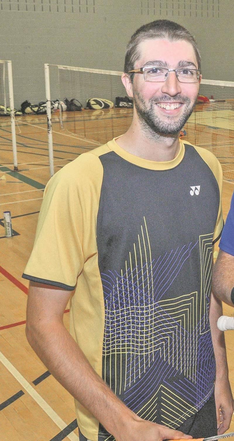 Philippe Gaumond a remporté un tournoi du circuit canadien en compagnie d'Anne-Julie Beaulieu. Photothèque | Le Courrier ©