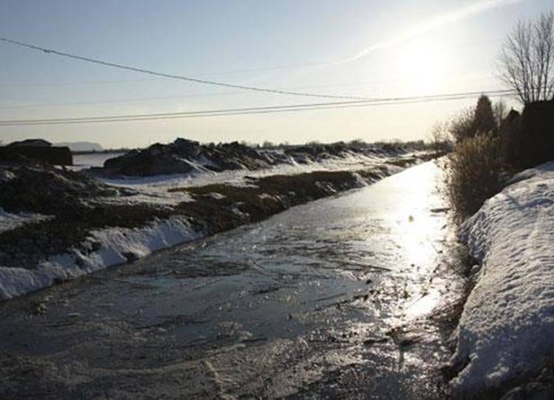 Le mauvais écoulement des eaux dans les fossés fait craindre le pire aux résidants du secteur de l'avenue Cordeau, dans le district Saint-Thomas-d'Aquin.
