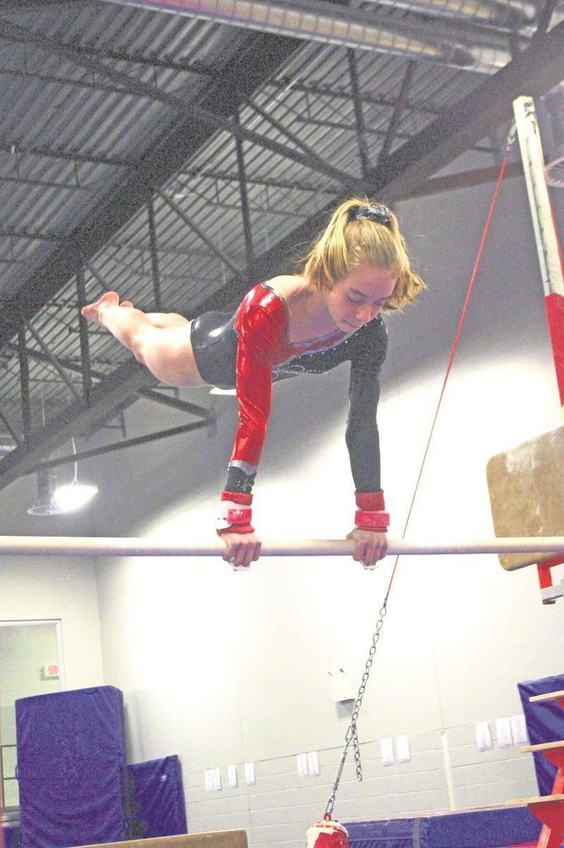 Aurélie Moissan sera l'une des athlètes de Gymnaska-Voltigeurs à surveiller aux qualifications. Photo Courtoisie