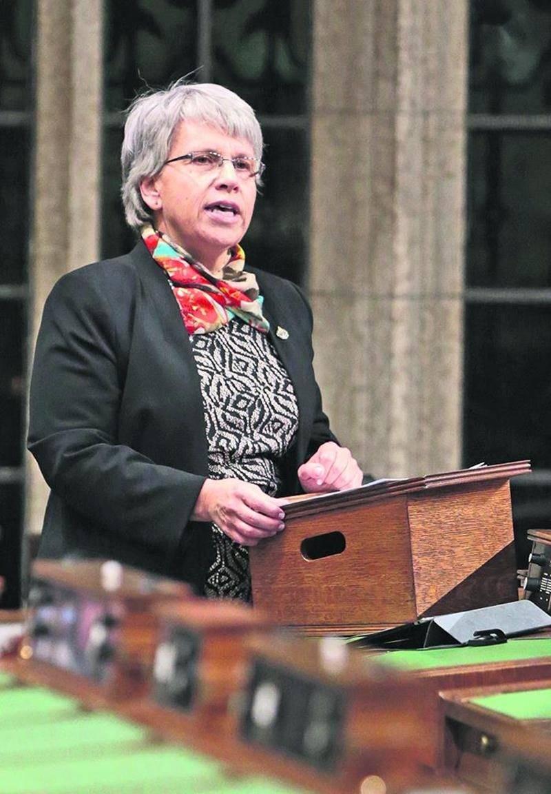 La députée Brigitte Sansoucy s'est retrouvée au centre du « elbowgate ». Photothèque | Le Courrier ©