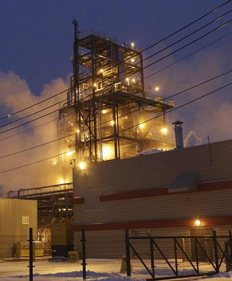 L'épaisse volute blanche qui s'échappe continuellement du site de l'usine Veolia de Saint-Hyacinthe préoccupe le ministère de l'Environnement.
