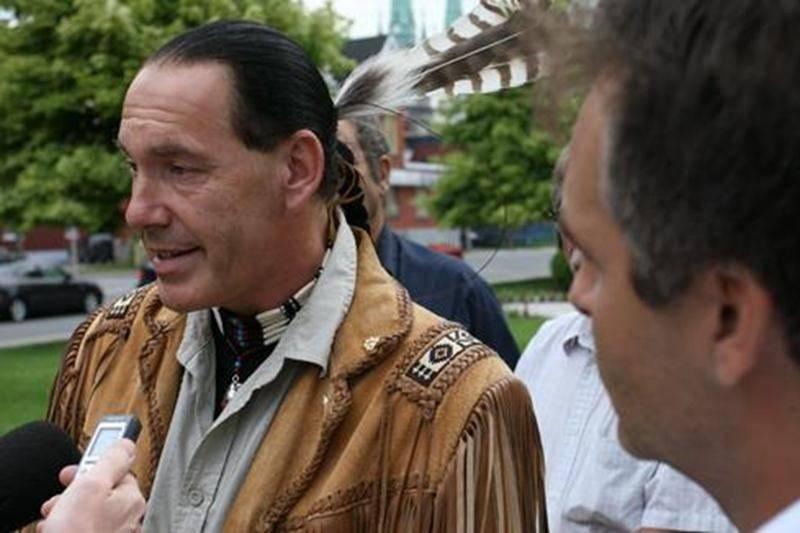 Guillaume Carle, Grand Chef des peuples autochtones du Canada.