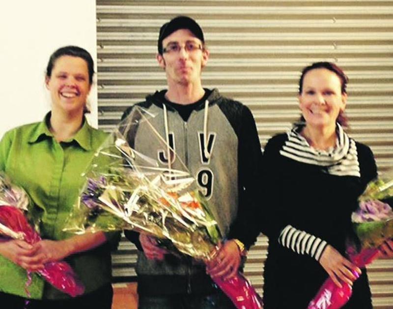 Les conférenciers Shelly Asprey, Frédéric Bergeron et Isabelle Dos Santos.