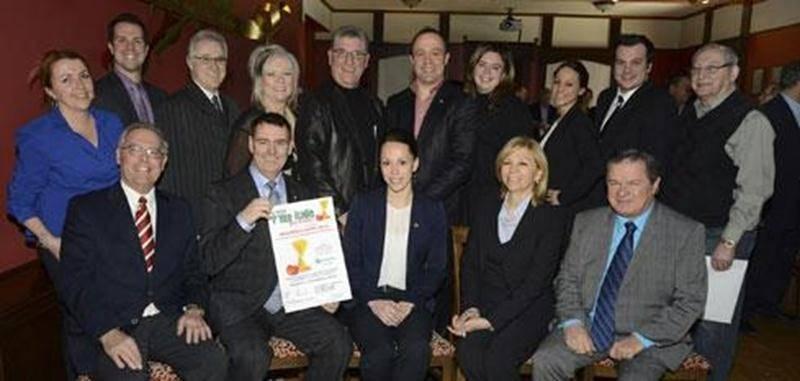 Le comité organisateur et les bénévoles de la Journée P'tite Italie pour la santé.