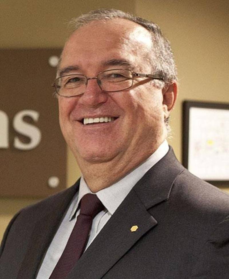 Jean-René Pelletier, directeur général de la Caisse Desjardins de Saint-Hyacinthe