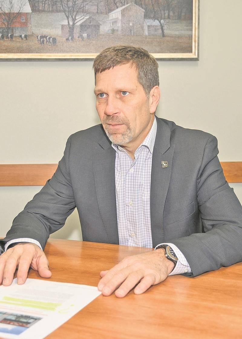 Fabien Fontaine, président-directeur général de Délimax. Photo François Larivière   Le Courrier ©