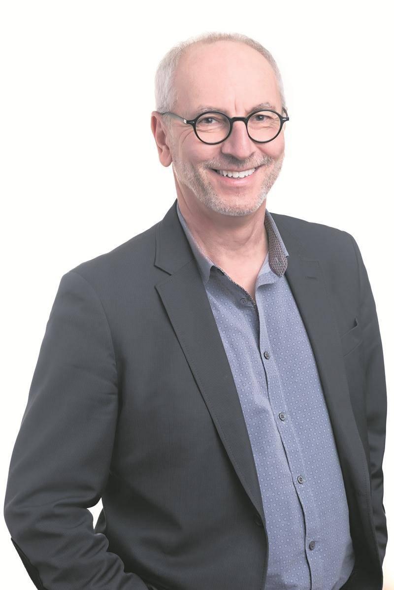Pierre Rhéaume, directeur général de la Chambre de commerce de la grande région de Saint-Hyacinthe, a accepté la présidence d'honneur du concert-bénéfice au profit du Trait d'Union Montérégien.