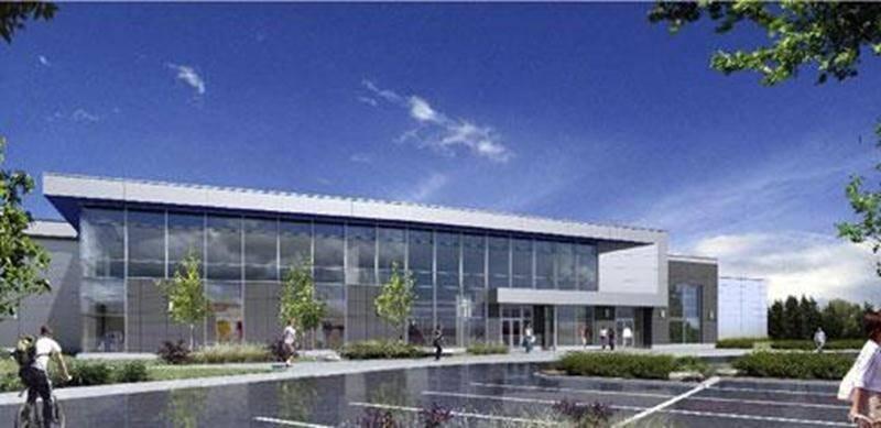 Voici à quoi ressemblerait le nouvel aréna de Syscomax à Saint-Hyacinthe. On en trouve des semblables à Chambly et Saint-Constant.