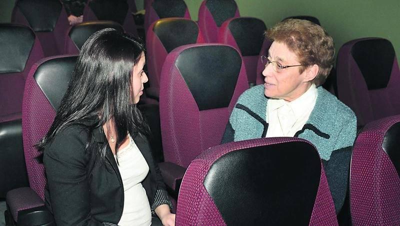 Soeur Pauline a livré ses impressions à notre journaliste Amilie Chalifoux. Photo François Larivière | Le Courrier ©