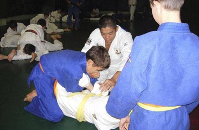 Akinori Hongo a légué trucs et astuces aux athlètes et entraîneurs du Club de judo de Saint-Hyacinthe lors de son passage, le 23 septembre.