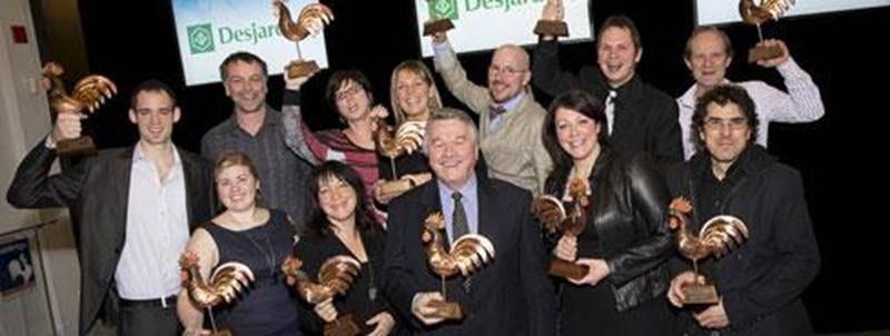 Les 13 lauréats des Grands Prix du tourisme de la Montérégie 2013.