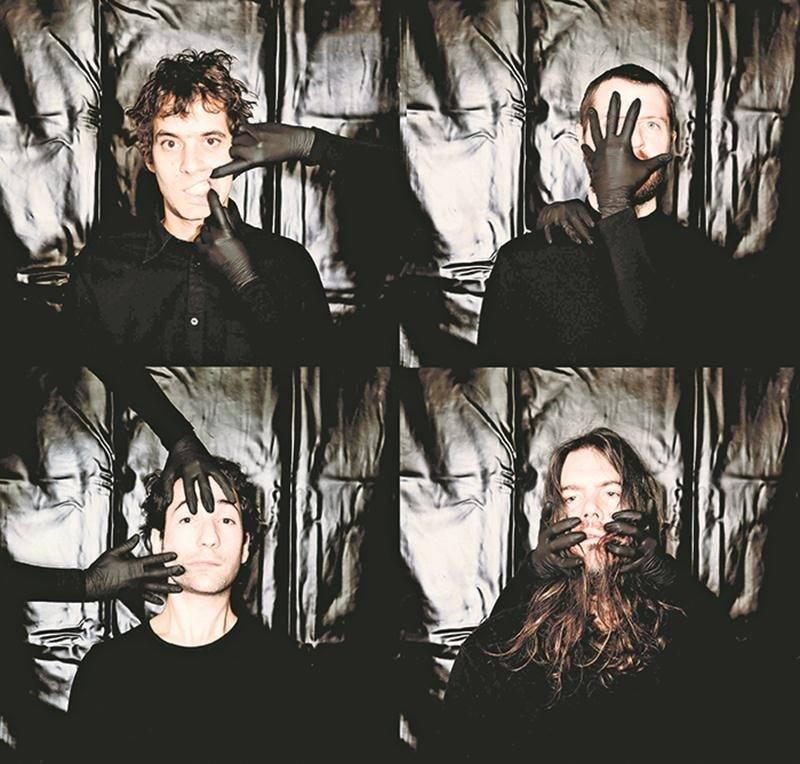 Le groupe montréalais Suuns lancera demain son nouvel album, Felt, qu'il viendra présenter au Zaricot le 7 mars. Photo Courtoisie
