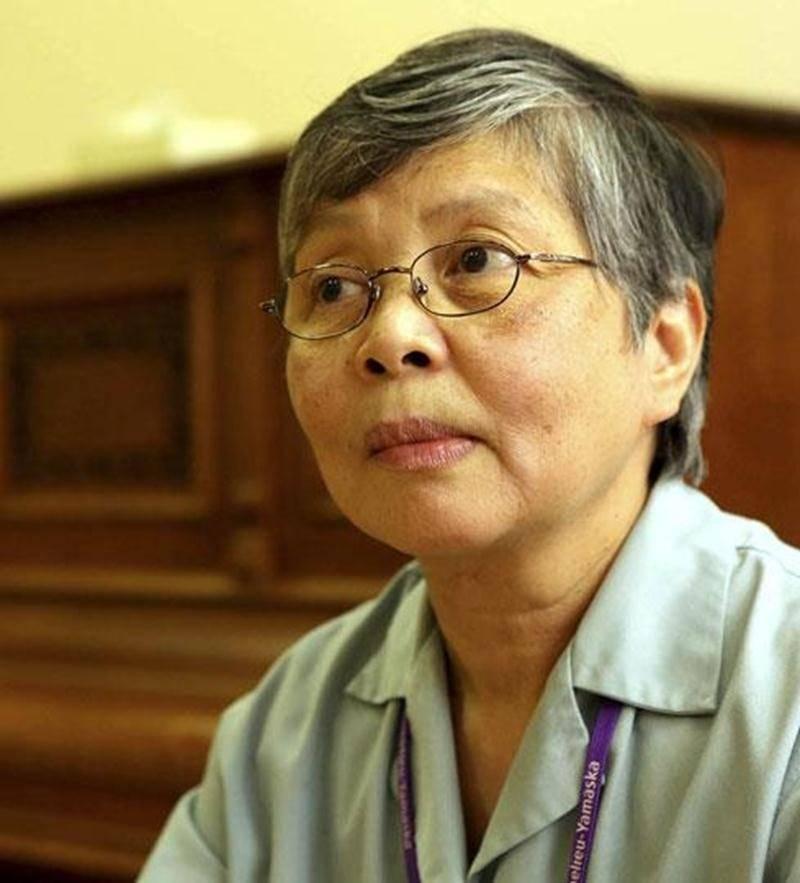 Marina Tapang, arrivée au Québec il y a deux ans, est déchirée de voir une telle tragédie s'abattre sur son peuple aux Philippines.